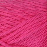 Hot Pink (bright pink) ball of Bernat Handicrafter Cotton (small, 50g ball)