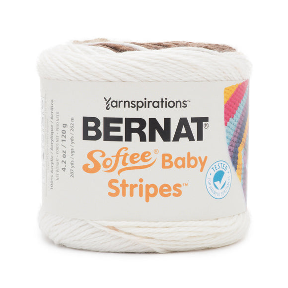 Softee Baby Stripes *discontinued* - 120g - Bernat