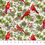 "The Scarlet Feather - 45"" - 100% Cotton"