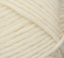Aran (ivory) swatch of Patons Classic Wool Roving