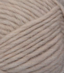 Natural swatch of Patons Classic Wool Roving