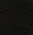 Black swatch of Patons Classic Wool Roving