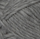 Grey swatch of Patons Classic Wool Roving