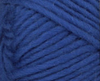 Royal (blue) swatch of Patons Classic Wool Roving