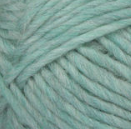 Low Tide (mint green) swatch of Patons Classic Wool Roving
