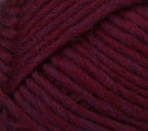 Plum (burgundy) swatch of Patons Classic Wool Roving