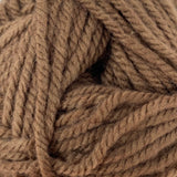 Patons Inspired Yarn swatch in Cocoa (medium brown)