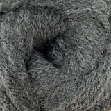 Patons Inspired Yarn swatch in Silver Gray Heather