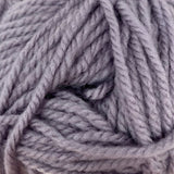 Patons Inspired Yarn swatch in Purple Gray