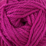 Patons Inspired Yarn swatch in Fuchsia Tourmaline