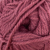 Patons Inspired Yarn swatch in Violet (light pinky purple)