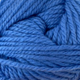 Patons Inspired Yarn swatch in Pacific Blue