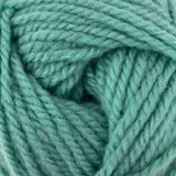 Patons Inspired Yarn swatch in Mineral Teal (pale)