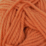 Patons Inspired Yarn swatch in Clay (pale coral)
