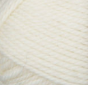 Winter White swatch of Patons Classic Wool Worsted