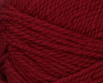 Burgundy swatch of Patons Classic Wool Worsted