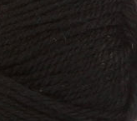 Black swatch of Patons Classic Wool Worsted