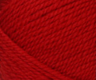 Bright Red swatch of Patons Classic Wool Worsted