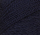 Navy swatch of Patons Classic Wool Worsted