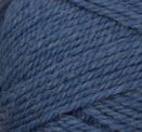 New Denim swatch of Patons Classic Wool Worsted