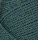 Jade Heather (dark green) swatch of Patons Classic Wool Worsted