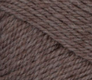 Heath Heather (taupe) swatch of Patons Classic Wool Worsted