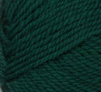 Evergreen (forest green) swatch of Patons Classic Wool Worsted