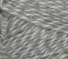 Light Grey Marl swatch of Patons Classic Wool Worsted