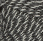 Dark Grey Marl swatch of Patons Classic Wool Worsted