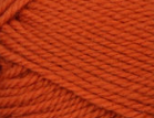 Pumpkin swatch of Patons Classic Wool Worsted