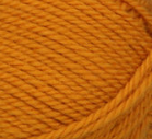 Yellow (gold) swatch of Patons Classic Wool Worsted