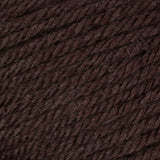 Stone Heather (reddish dark chocolate brown) swatch of Patons Canadiana