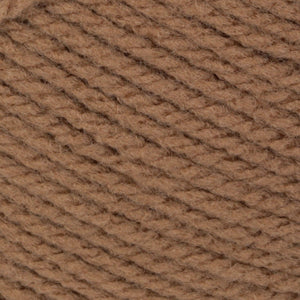 Ball of Patons Astra yarn in Medium Tan