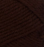 Mocha (chocolate brown) swatch of Patons Classic Wool DK Superwash