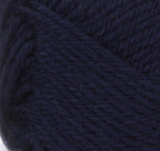 Navy swatch of Patons Classic Wool DK Superwash