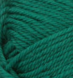 Emerald (green) swatch of Patons Classic Wool DK Superwash