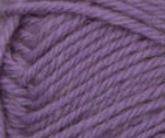 Wisteria (mauve) swatch of Patons Classic Wool DK Superwash
