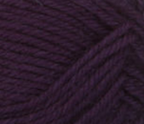 Eggplant (purple) swatch of Patons Classic Wool DK Superwash