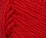 Red swatch of Patons Classic Wool DK Superwash
