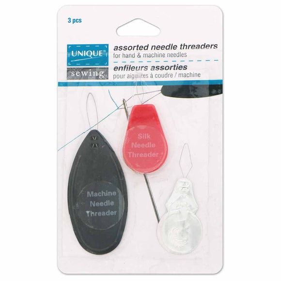Needle Threader Assortment 3ct