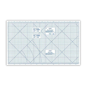 "33"" x 60"" folding cutting board with grid/line patterns"