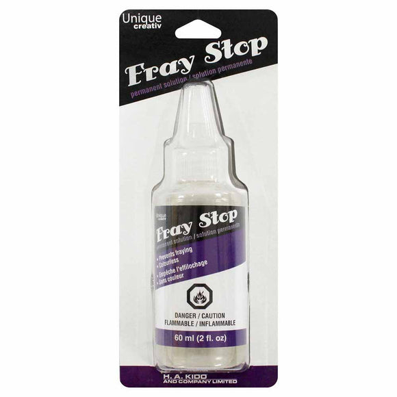 60mL bottle (in packaging) of Fray Stop solution
