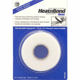 HEM iron on adhesive roll in packaging (8yds)