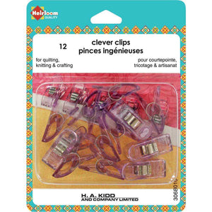 Heirloom Clever Clips, Small (12 pk)