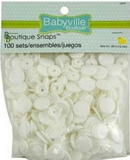White Snaps - Large packs - Babyville