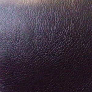 Swatch of Bomber faux leather in Black