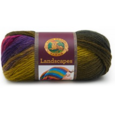 Landscapes - 100g - Lion Brand *discontinued shades*
