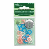 Stitch Ring Markers - Clover
