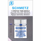 Sewing Machine Needles - Stretch Twin - Schmetz