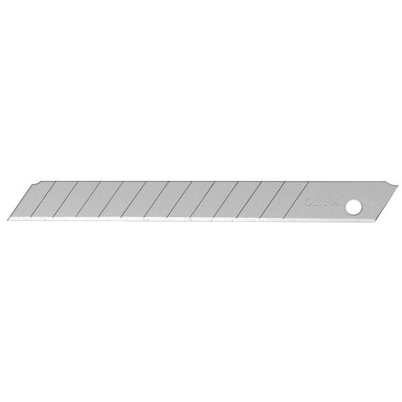 9mm Precision Silver Snap Blade - 10 Pack - OLFA